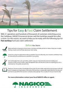 Tips for easy and fast claims settlement - NAGICO Insurances